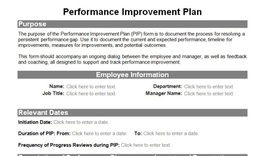 Awesome Performance Improvement Plan